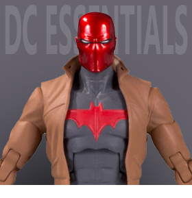 DC ESSENTIALS RED HOOD FIGURE