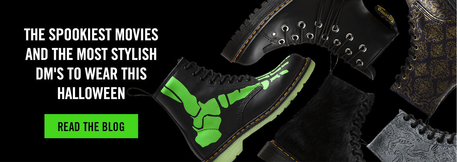 The spookiest movies and the most stylish DM's to wear this Halloween - Read the blog