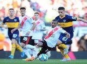 A falta de dos jornadas, Boca Juniors y River Plate lideran el Grupo A de la Fase Campeonato con siete puntos.