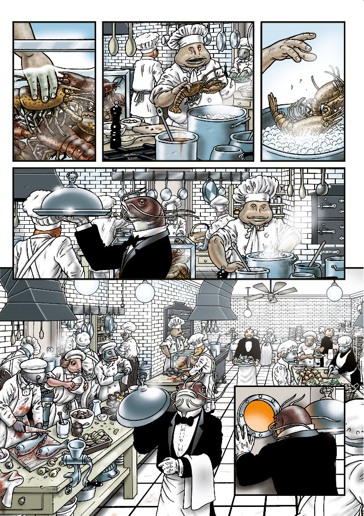 """Grandville. Fuerza mayor"" de Bryan Talbot, proxima novedad de Astiberri. @Astiberri"