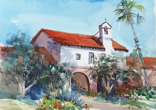 Tuesday Watercolor with Nancy Lewis