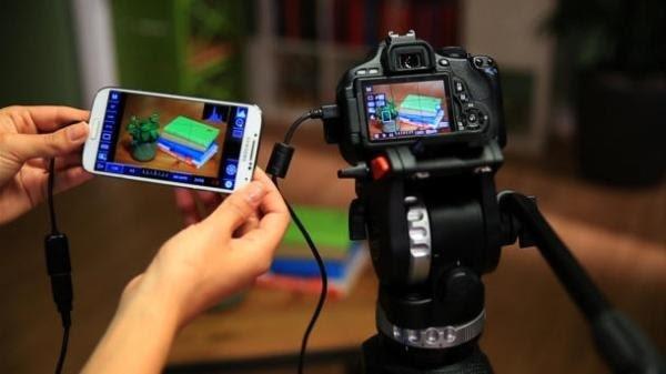 connecter un appareil photo numérique à un appareil android