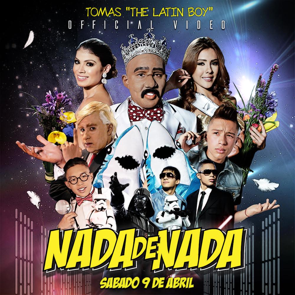 POSTER CUADRADO NADA DE NADA