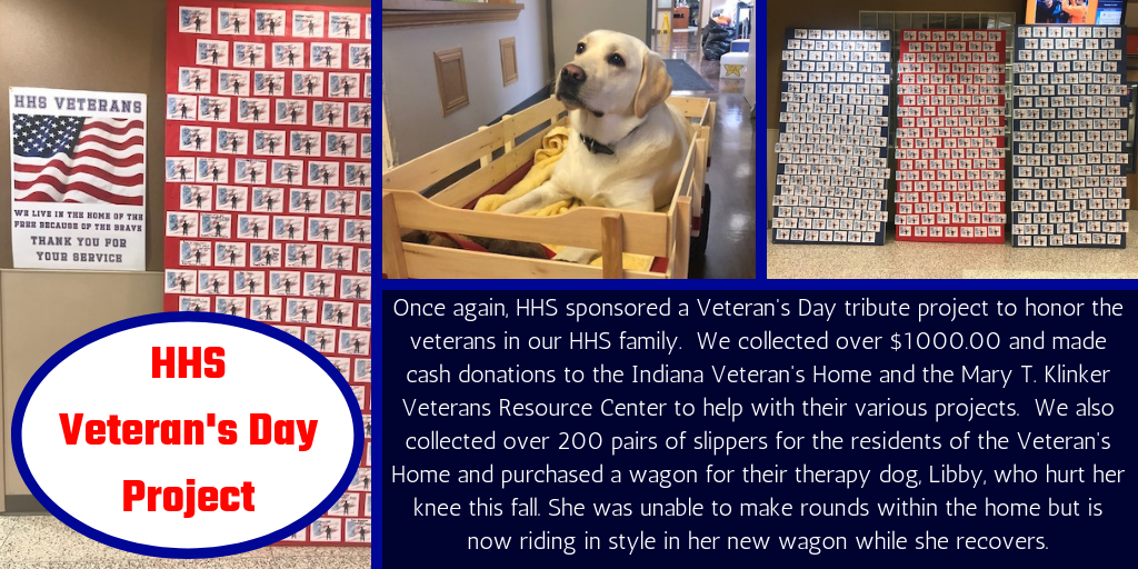 HHS Veteran's Day Project