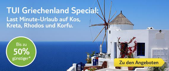 TUI Griechenland Special: Bis zu 50%* sparen!