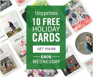 Tiny Prints 10 Free Holiday Cards