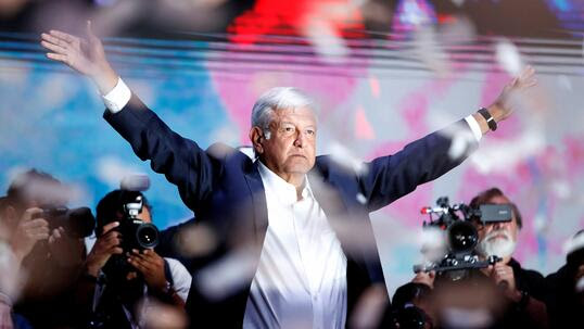 Will Mexico's new president challenge Trump?