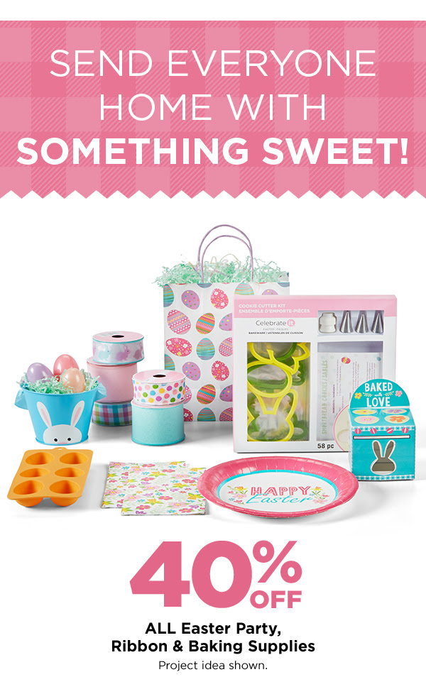 Easter Party, Ribbon & Baking Supplies