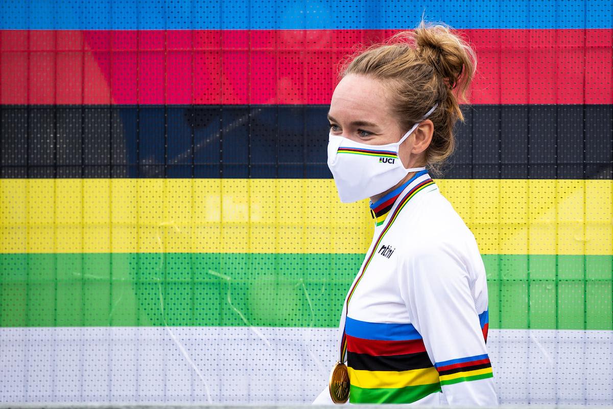 Anna van der Breggen. Photo: Facebook, UCI.