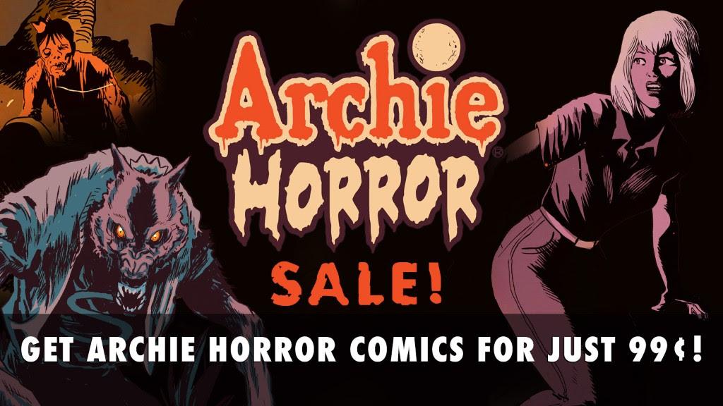 Archie Horror Sale!