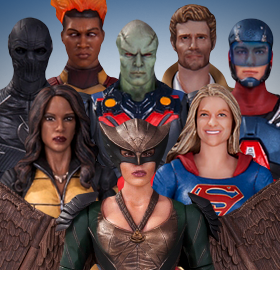 DC TELEVISION FIGURES