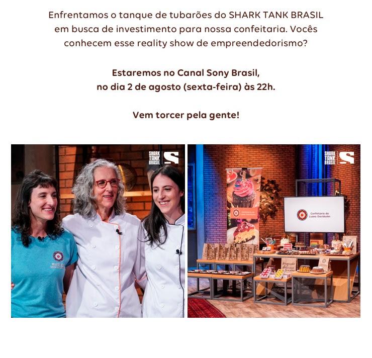 Reprise Confeitaria da luana no SharkTank Brasil no Canal Sony | Confeitaria da Luana