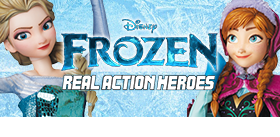 REAL ACTION HEROES FROZEN FIGURES