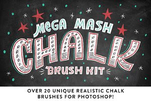 Mega Mash Chalk Brush Kit