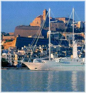 Windstar at Ibiza, Baleares - Spain