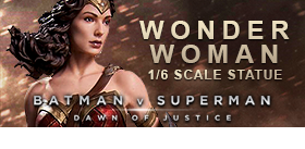 WONDER WOMAN DAWN OF JUSTICE STATUE