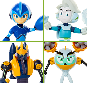 MEGA MAN: FULLY CHARGED FIGURES