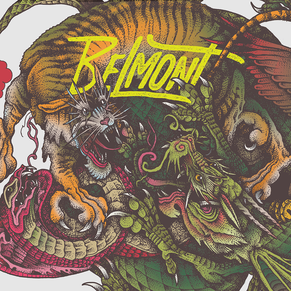 belmont self titled cover