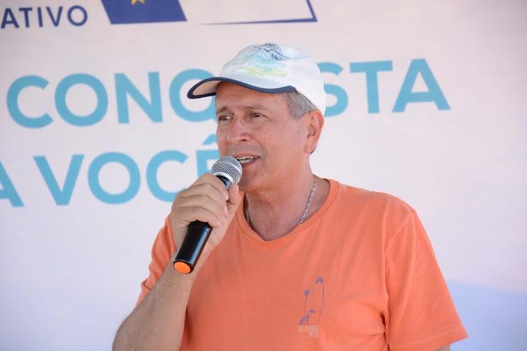 Guilherme Menezes diz que Odir não é candidato tirado da cartola, mas é do coração.