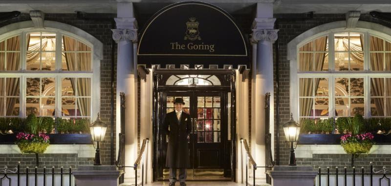 Goring Hotel Entrance