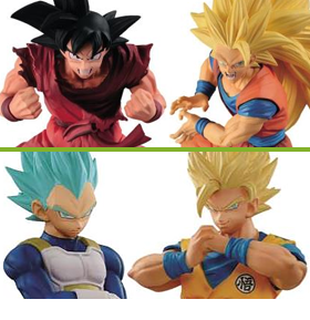 BANPRESTO DRAGON BALL ARRIVALS