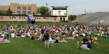 Starlight Movie at Ryan Field (courtesy NU Sports)