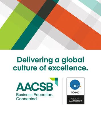 Mediante la certificación ISO 9001:2015, se reconoce a AACSB por su compromiso global con la superación de las expectativas del cliente, y por su dedicación en la búsqueda de la mejora continua y la calidad en la educación en negocios.