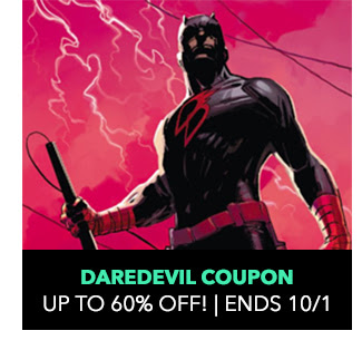 Daredevil Coupon: up to 60% off! Sale ends 10/1.