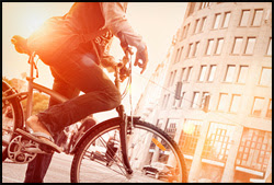 During 1975–2012, overall annual rates for cyclist mortality decreased 44%.