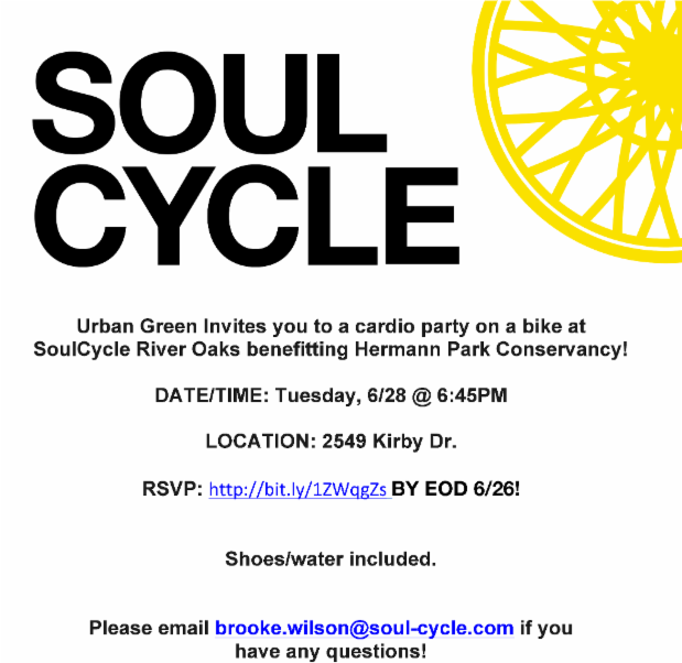 Soul Cycle @ Houston | Texas | United States