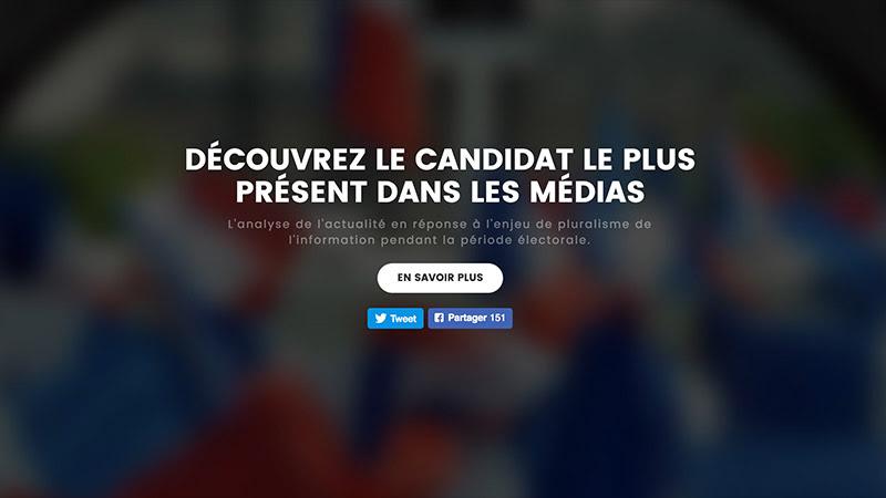 Candidats média : un outil original de mesure de la médiatisation