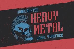 HeavyMetal Typeface