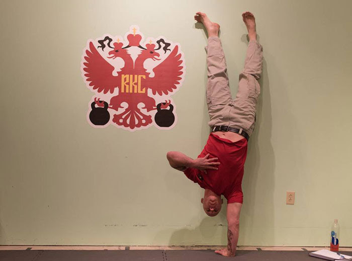 Phil Ross One Arm Handstand