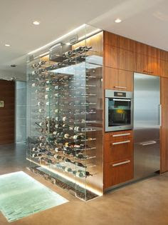 Image result for kitchens refrigerated wine vault