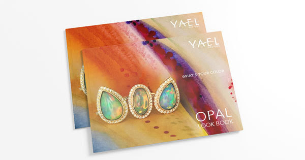 Opal Look Book featuring exceptional fine Ethiopian white opal jewelry by Yael Designs - specializing in unique and custom designs