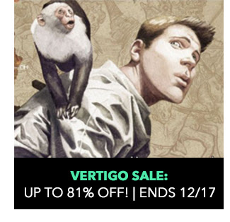 Vertigo Sale: up to 81% off! Sale ends 12/17.