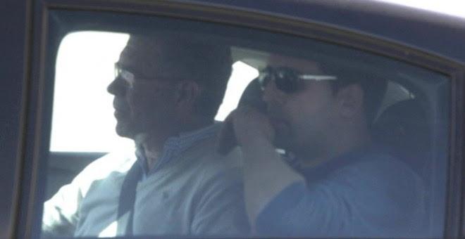 Francisco Granados, que lideraba la trama Púnica junto a David Marjaliza, en el día de su detención por la Guardia Civil. EFE