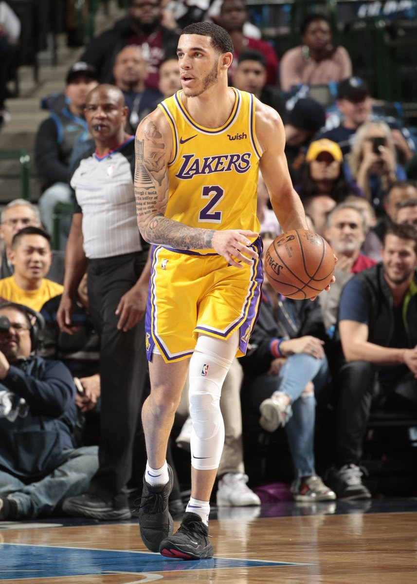 Lonzo Ball provided good backup as the Lakers [NBA]
