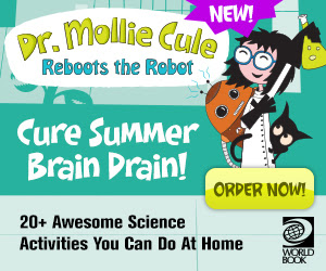 Dr. Mollie Cule! 20+ Awesome Science Activities You Can Do At Home!