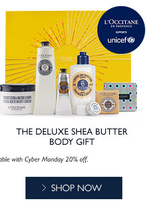 Shop the Deluxe Shea Butter Body Gift