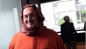Germany: Catholic priest wears Islamic headscarf in protest against anti-immigration party AfD