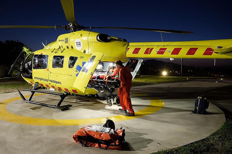 El SEM consolida l'helicòpter nocturn com una eina d'alta especialització mèdica i d'equitat pel territori