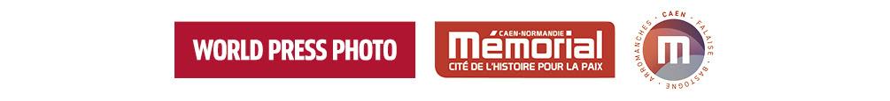 Logo World Press Photo - Mémorial de Caen