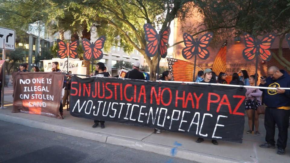 H2 jose elena rodriguez protest