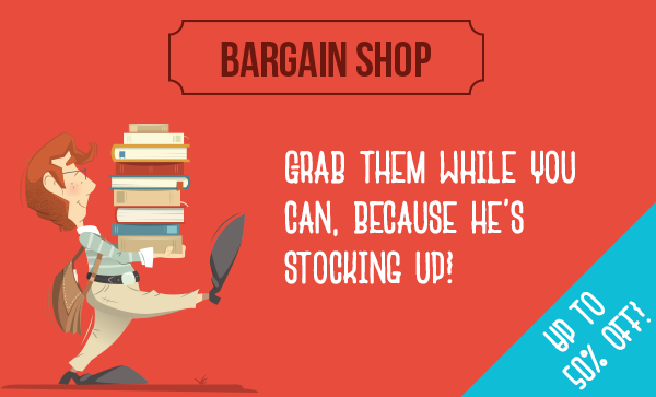 Save up to 50% off on bargain shop + free delivery worldwide at Book Depository.