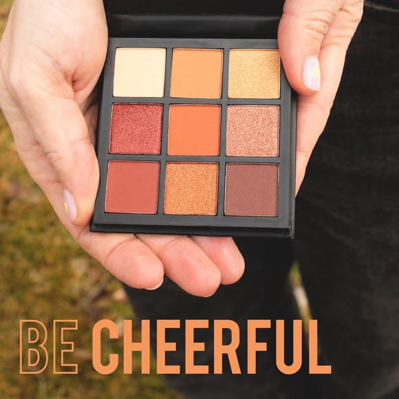 Shine Cosmetics Eyeshadow Palette Be Cheerful