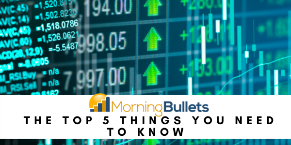 These are this morning's top headlines to start your day