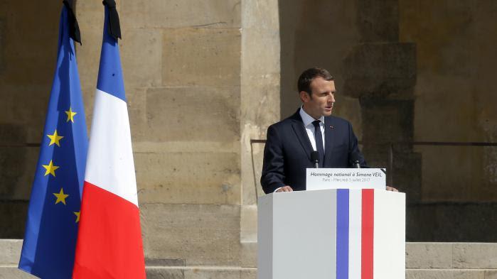 """VIDEO. """"J'ai décidé que Simone Veil reposerait avec son époux au Panthéon"""", annonce Emmanuel Macron"""