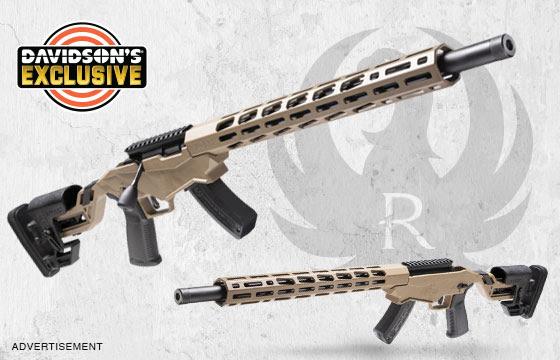 Davidson's Exclusive Ruger Precision Rimfire Rifle