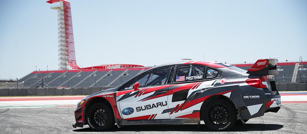 Subaru WRX STI ARX Supercar at COTA